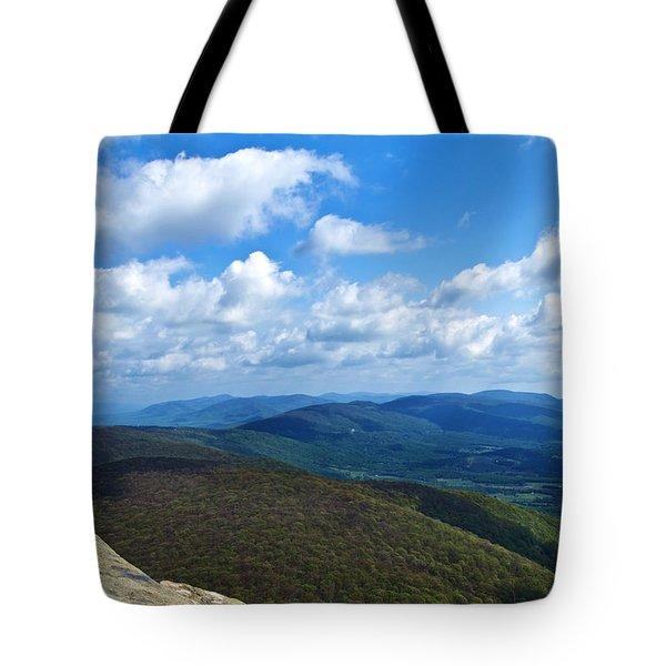 Humpback Rocks View North Tote Bag