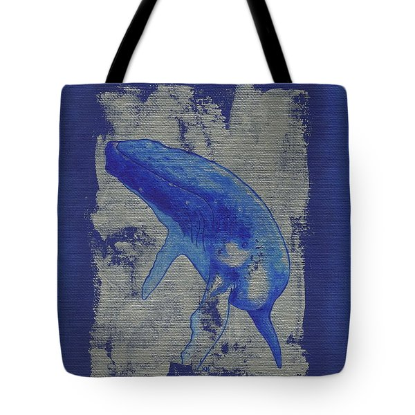 Humpback Whale Song Tote Bag