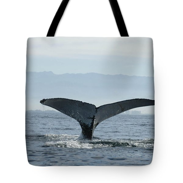 Humpback Whale Tail 3 Tote Bag