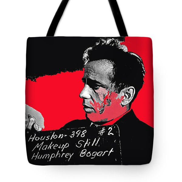 Humphrey Bogart The Maltese Falcon Makeup Photo Tote Bag by David Lee Guss