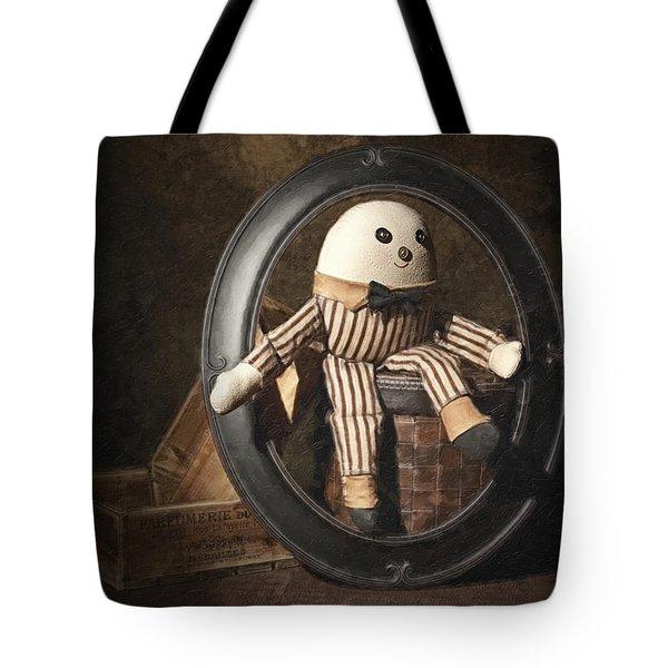 Humpty Dumpty Tote Bag by Tom Mc Nemar