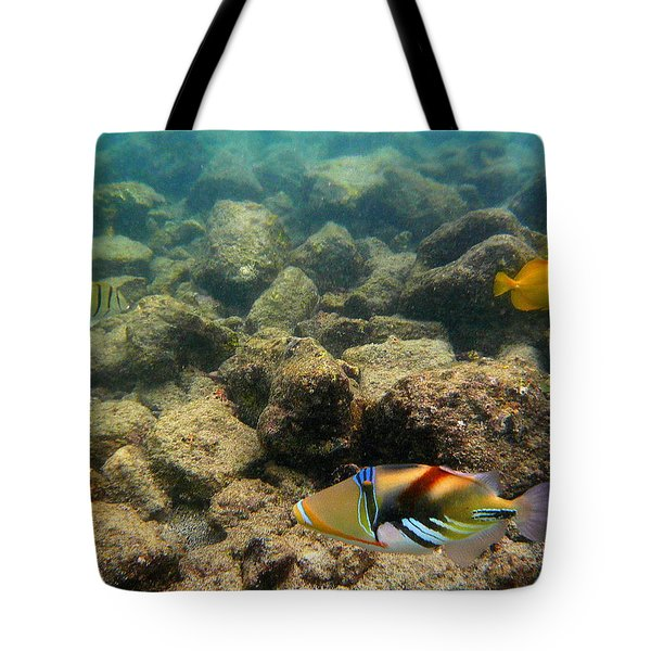 Humuhumu Tote Bag