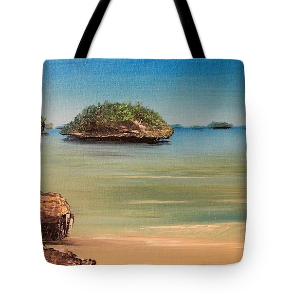 Hundred Islands In Philippines Tote Bag