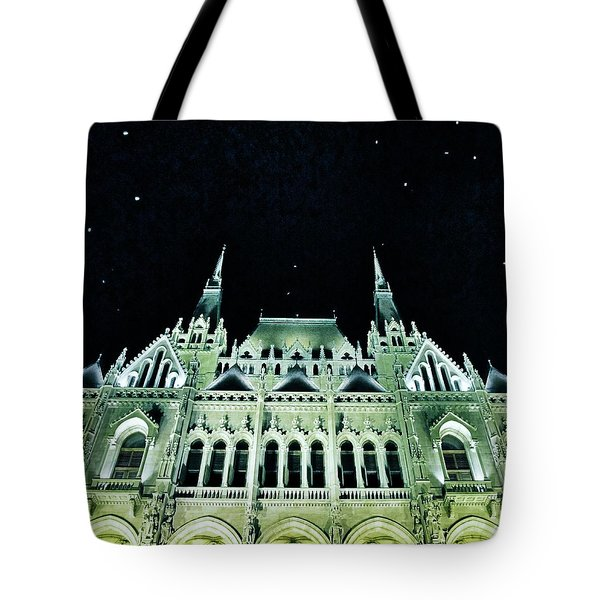 Hungarian Parliament Building - Budapest Tote Bag