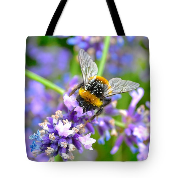 Hungry Bee Tote Bag