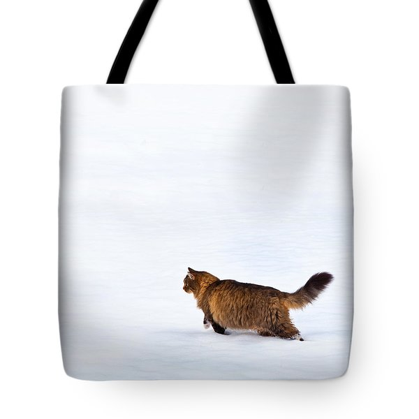 Hunter At Work Tote Bag