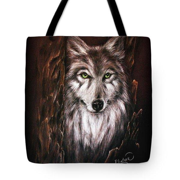 Hunter In The Night Tote Bag