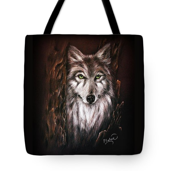 Hunter In The Night Tote Bag by Patricia Lintner