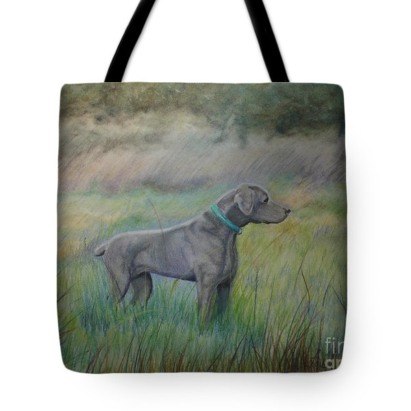 Hunter Tote Bag by Laurianna Taylor