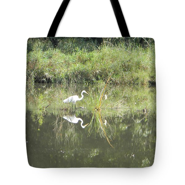Hunter Reflected 1 Tote Bag by Mark Minier