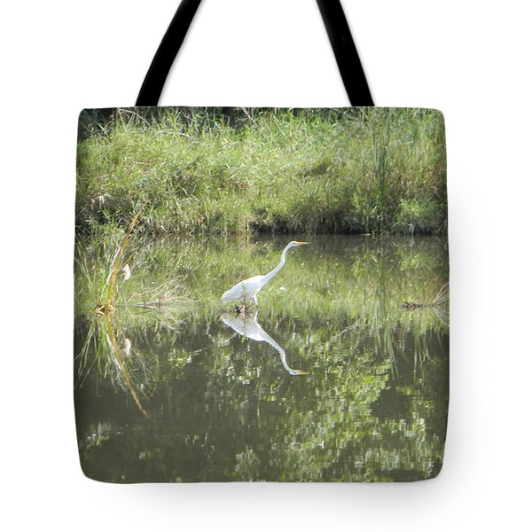Hunter Reflected 2 Tote Bag by Mark Minier