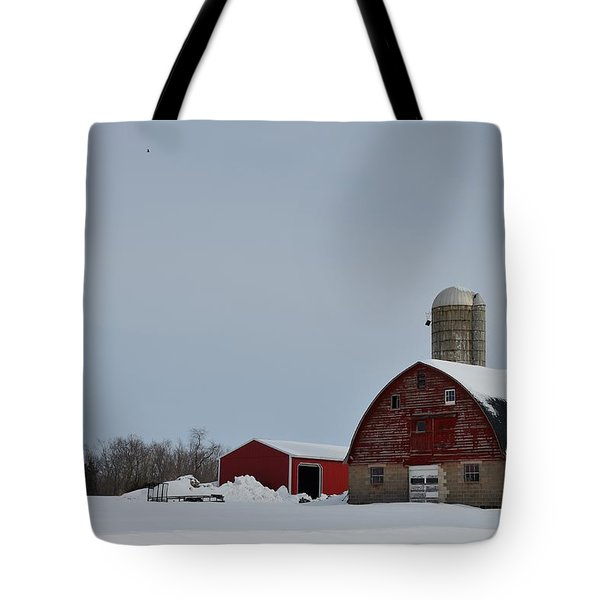Tote Bag featuring the photograph Hunterdon County Landscape by Steven Richman