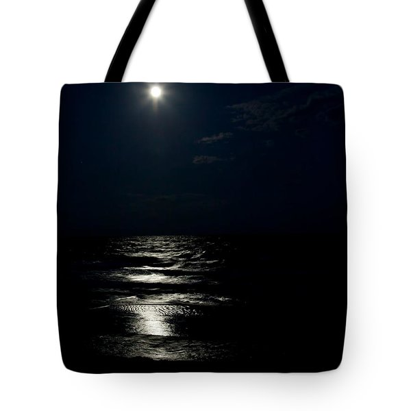 Hunter's Moon II Tote Bag by Michelle Wiarda