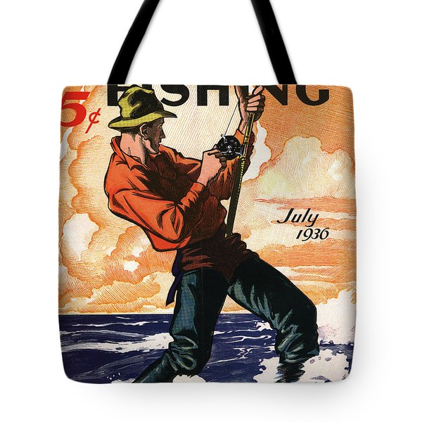 Hunting And Fishing Tote Bag