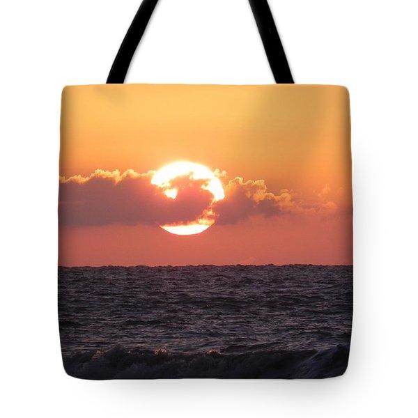 Hunting Island Sunrise Tote Bag