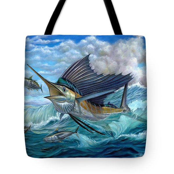 Hunting Sail Tote Bag