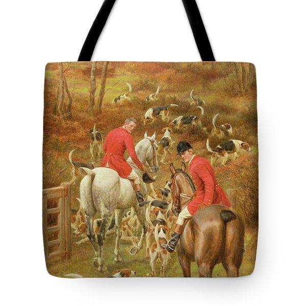 Hunting Scene, 1906 Tote Bag