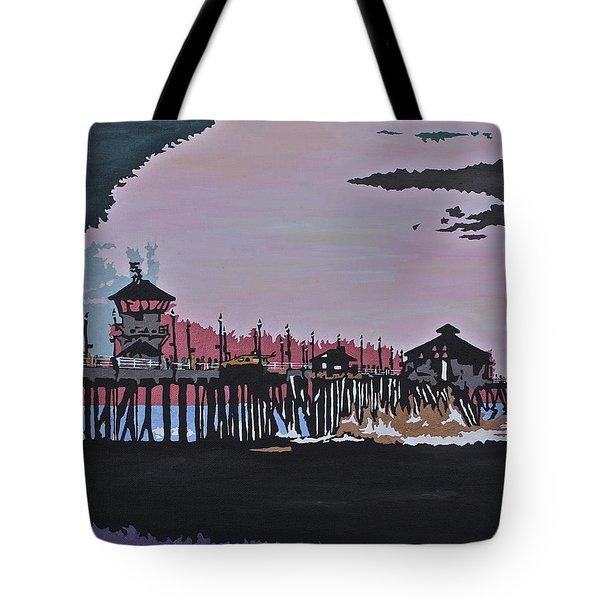 Huntington Beach Pier 1 Tote Bag