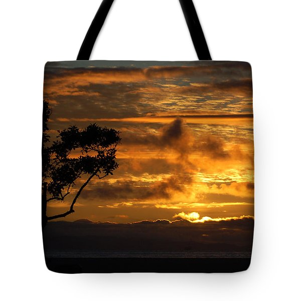 Tote Bag featuring the photograph Huntington Beach Sunset by Matt Harang
