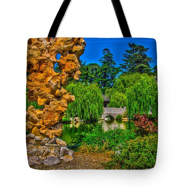 Huntington Gardens Ca Tote Bag