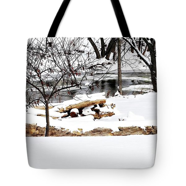 Huron River Tote Bag