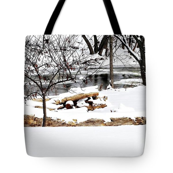 Huron River Tote Bag