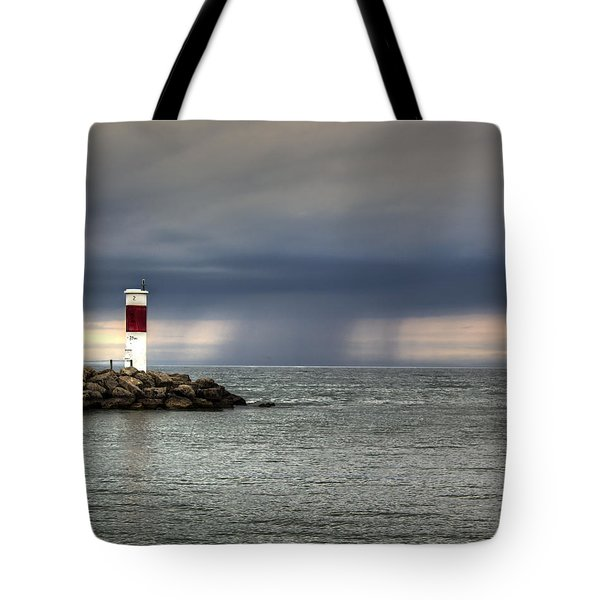 Hurricane Irene Tote Bag by Tim Buisman