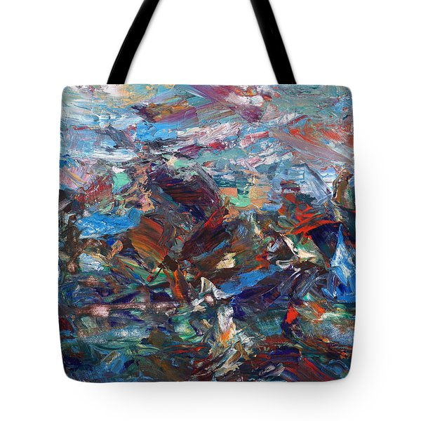 Hurricane Tote Bag by James W Johnson