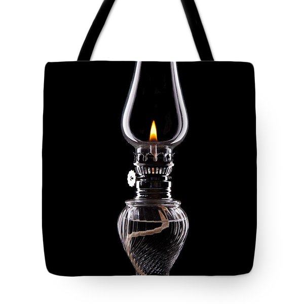 Hurricane Lamp Still Life Tote Bag by Tom Mc Nemar