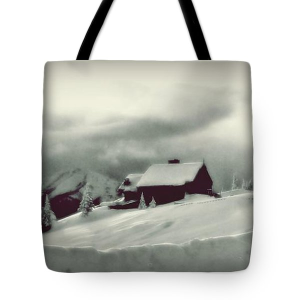 Tote Bag featuring the photograph Hurricane Ridge By Steve Strand by Patricia Strand