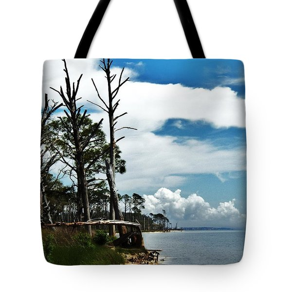 Tote Bag featuring the photograph Hurricane Trail by Faith Williams