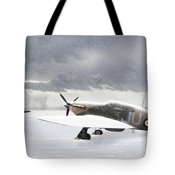 Hurricanes In The Snow Tote Bag