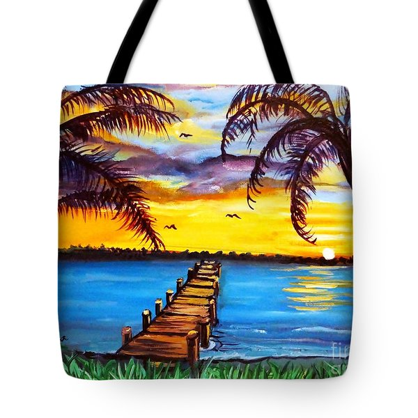 Hurry Sundown Tote Bag