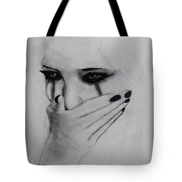 Hurt Tote Bag by Michael Cross