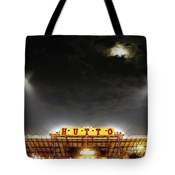 Hutto Hippo Stadium Tote Bag by Trish Mistric