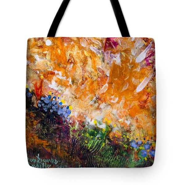 Huzzah Tote Bag by Ron Richard Baviello