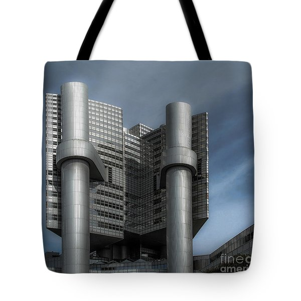 Hvb Building Tote Bag by Hannes Cmarits