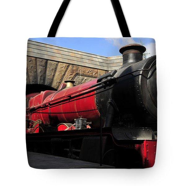 Hogwarts Express Train Work A Tote Bag by David Lee Thompson