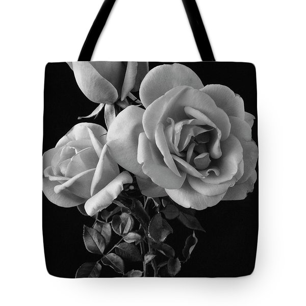 Hybrid Tea California Roses Tote Bag