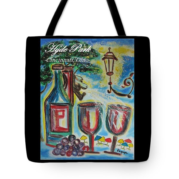 Hyde Park Square - Cincinnati Ohio Tote Bag
