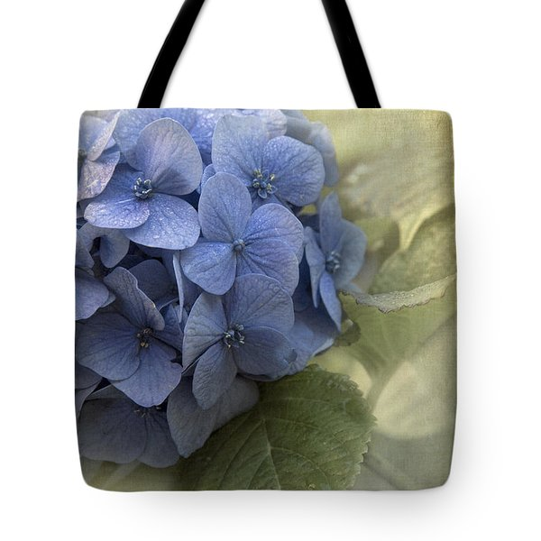 Hydrangea 2 Tote Bag by Angie Vogel