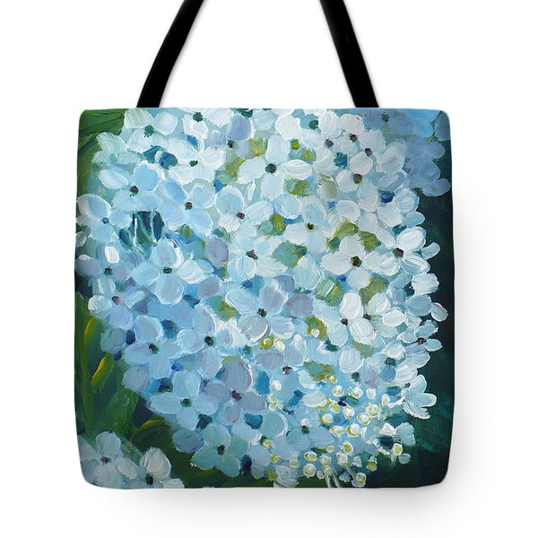 Hydrangea Blossom Tote Bag
