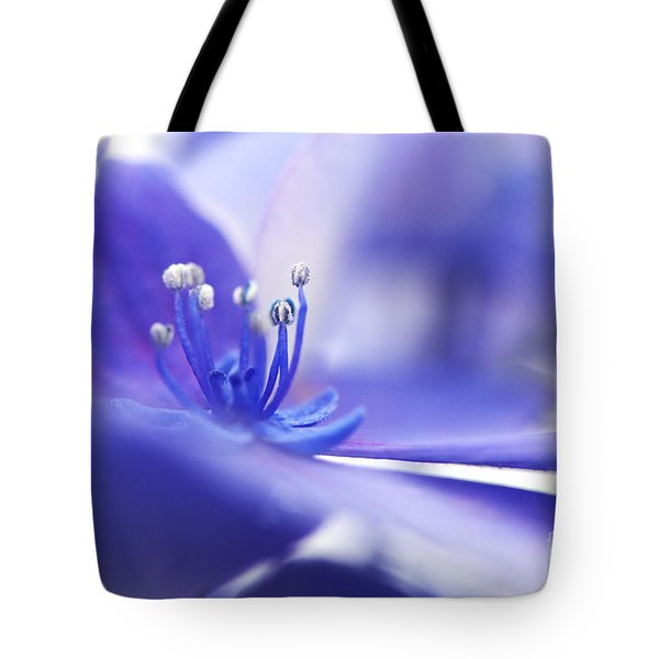 Hydrangea Closeup Tote Bag by Sharon Talson