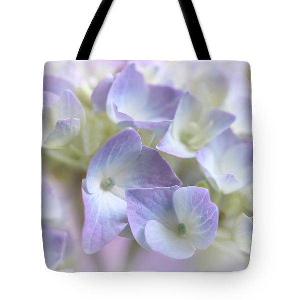 Hydrangea Floral Macro Tote Bag by Jennie Marie Schell