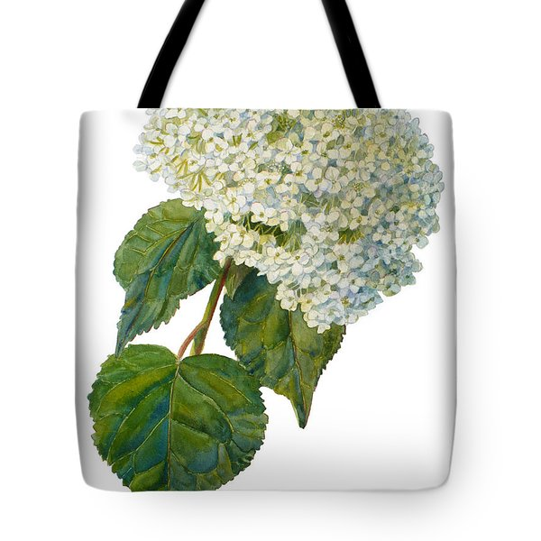 Hydrangea Aborescens Tote Bag