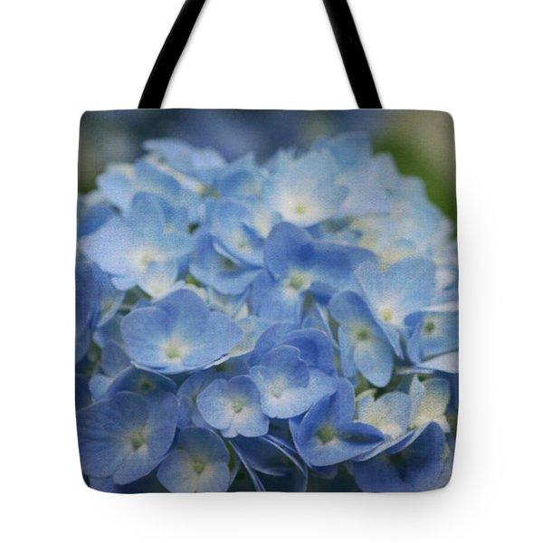 Hydrangea Solitude Tote Bag