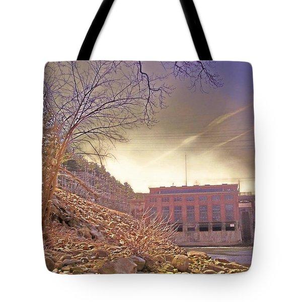 Hydro Electric Dam  N Tote Bag