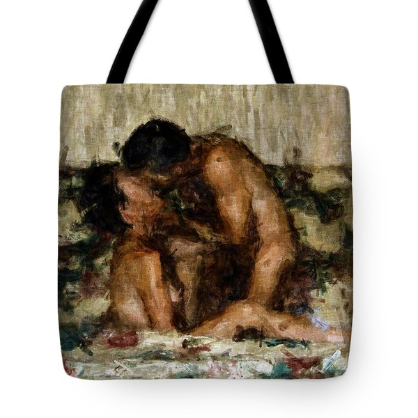 I Adore You Tote Bag by Kurt Van Wagner