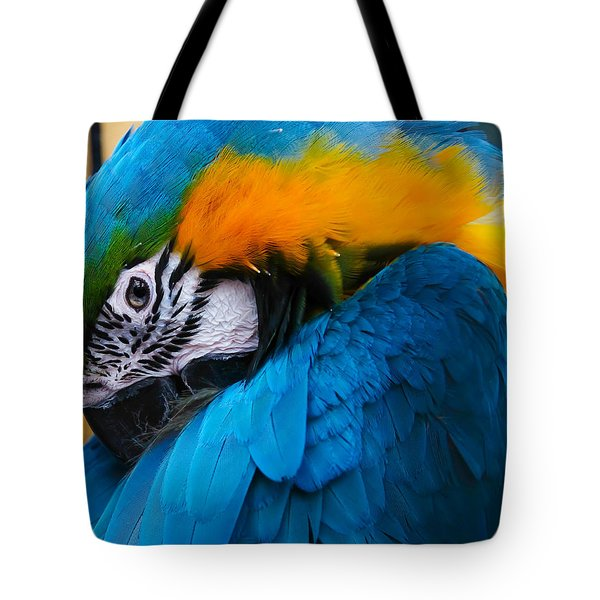 I Always Feel Like Somebody's Watching Me Tote Bag by Robert L Jackson