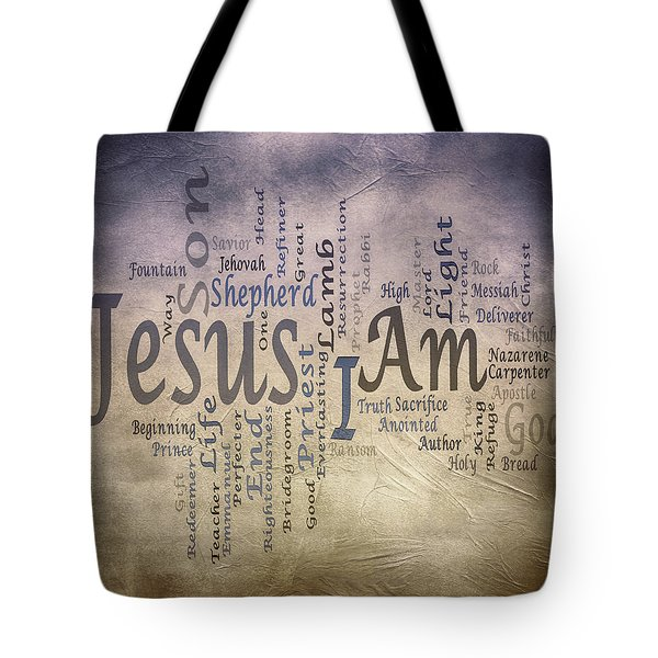 I Am 2 Tote Bag by Angelina Vick